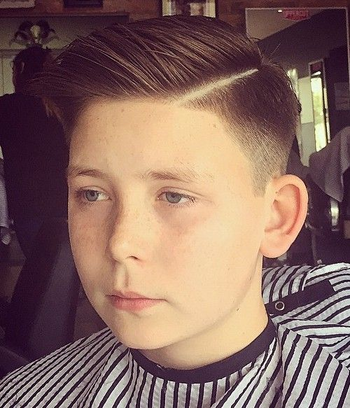Trendy Boys' Haircut 9 Year Old With A Side Part