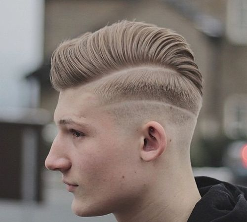 long top short sides men's haircut