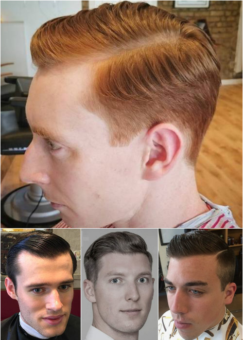 slick side-parted men's hairstyles