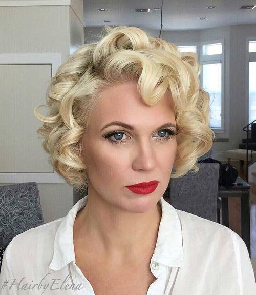 Astonishing 50 Trendiest Short Blonde Hairstyles And Haircuts Hairstyles For Women Draintrainus