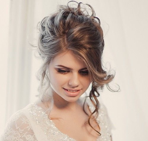 Short Hairstyle Updos For Wedding: 40 Chic Wedding Hair Updos For Elegant Brides