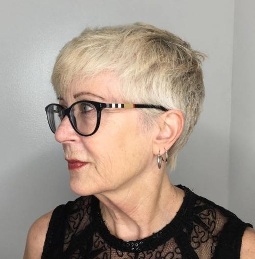 Short Over 70 Haircut