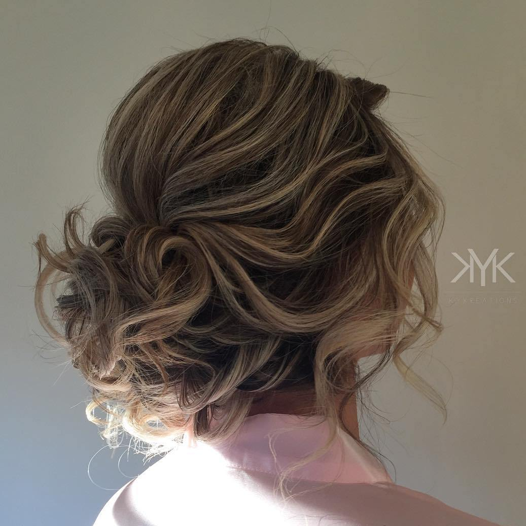 Wedding Hairstyle Messy Bun: 40 Irresistible Hairstyles For Brides And Bridesmaids