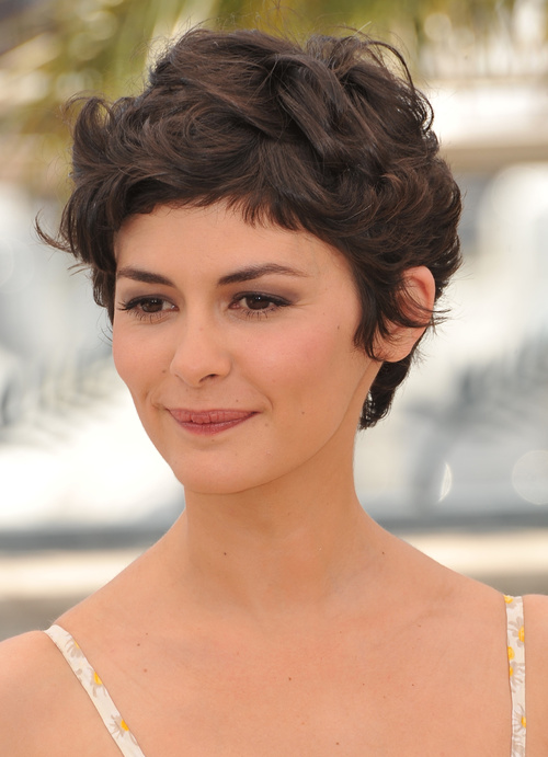 pixie haircut for thick curly hair