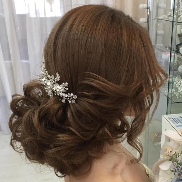 Low Side Bridal Updo