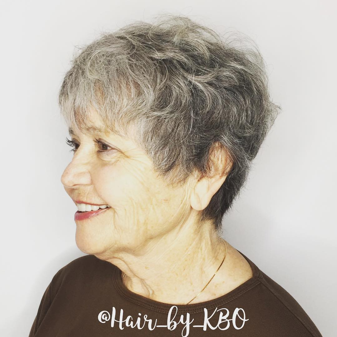Hairstyles over 70