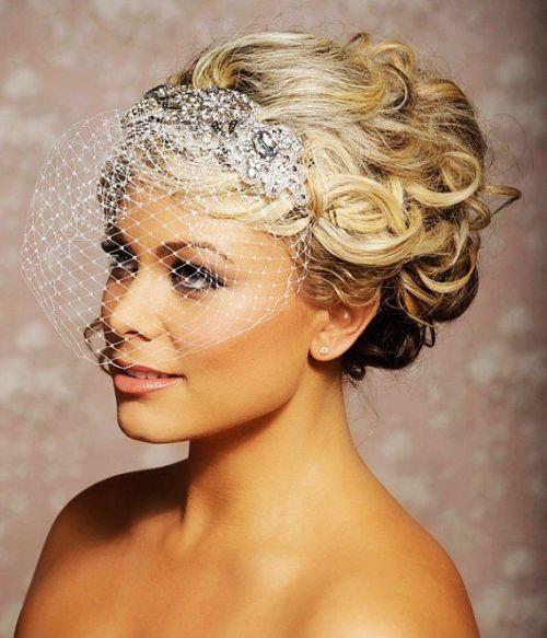 Wedding Hairstyles With Veils: 40 Chic Wedding Hair Updos For Elegant Brides