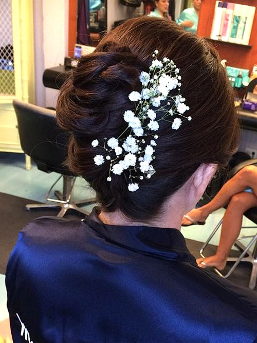 easy wedding  updo hairstyle for mothers