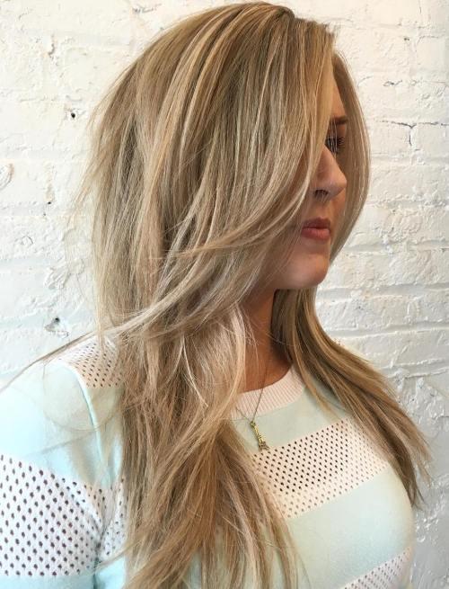 Straight Layered Haircut For Long Hair
