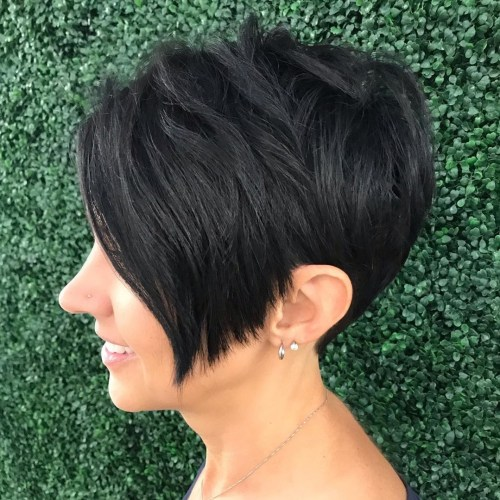 Tapered Pixie For Thick Coarse Hair