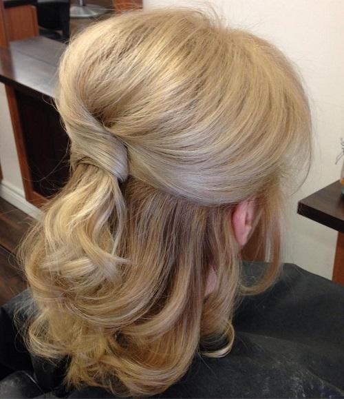 Awe Inspiring Half Up Half Down Wedding Hairstyles 50 Stylish Ideas For Brides Hairstyles For Men Maxibearus