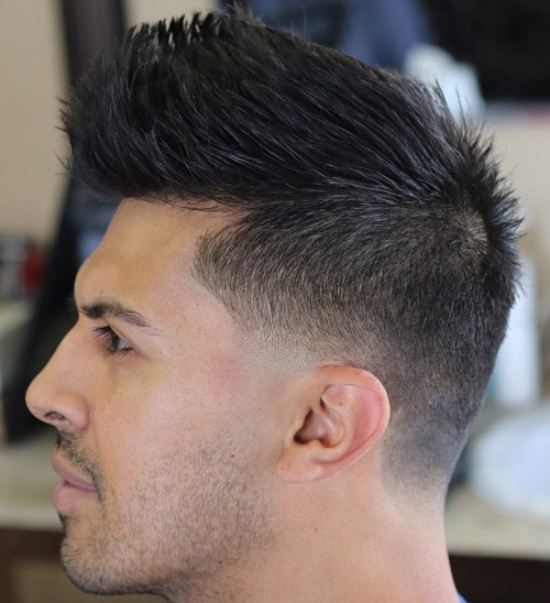 Men's Haircut For Thick Hair