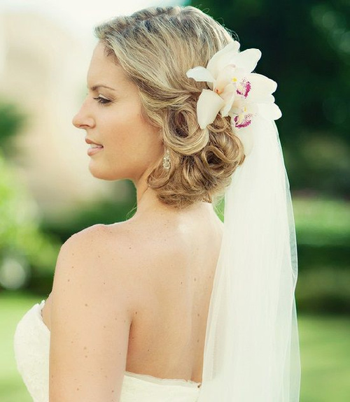 Beach Wavy Wedding Hairstyles