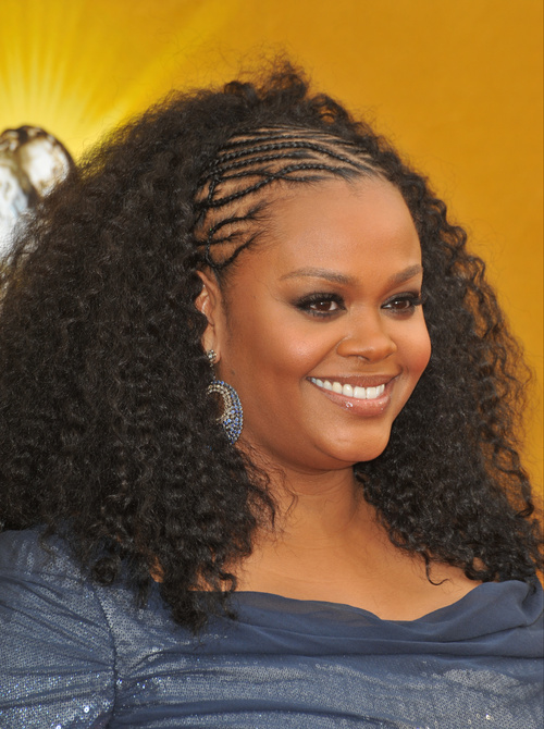 Lovely Micro Braids Hairstyle