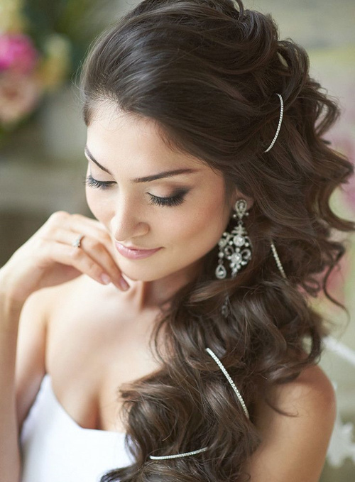 Swell 50 Irresistible Hairstyles For Brides And Bridesmaids Short Hairstyles Gunalazisus