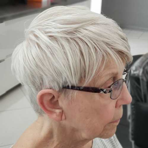 Choppy Short Haircuts For Women Over 70
