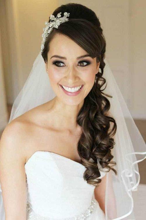 Excellent Wedding Curly Hairstyles 20 Best Ideas For Stylish Brides Short Hairstyles Gunalazisus