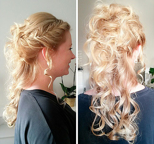 37 Beautiful Half Up Half Down Hairstyles Half Up Pony 4: 40 Long Hairstyles And Haircuts For Fine Hair With An