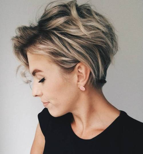 30 Celeb-Inspired Pixie Cuts for Thick Hair