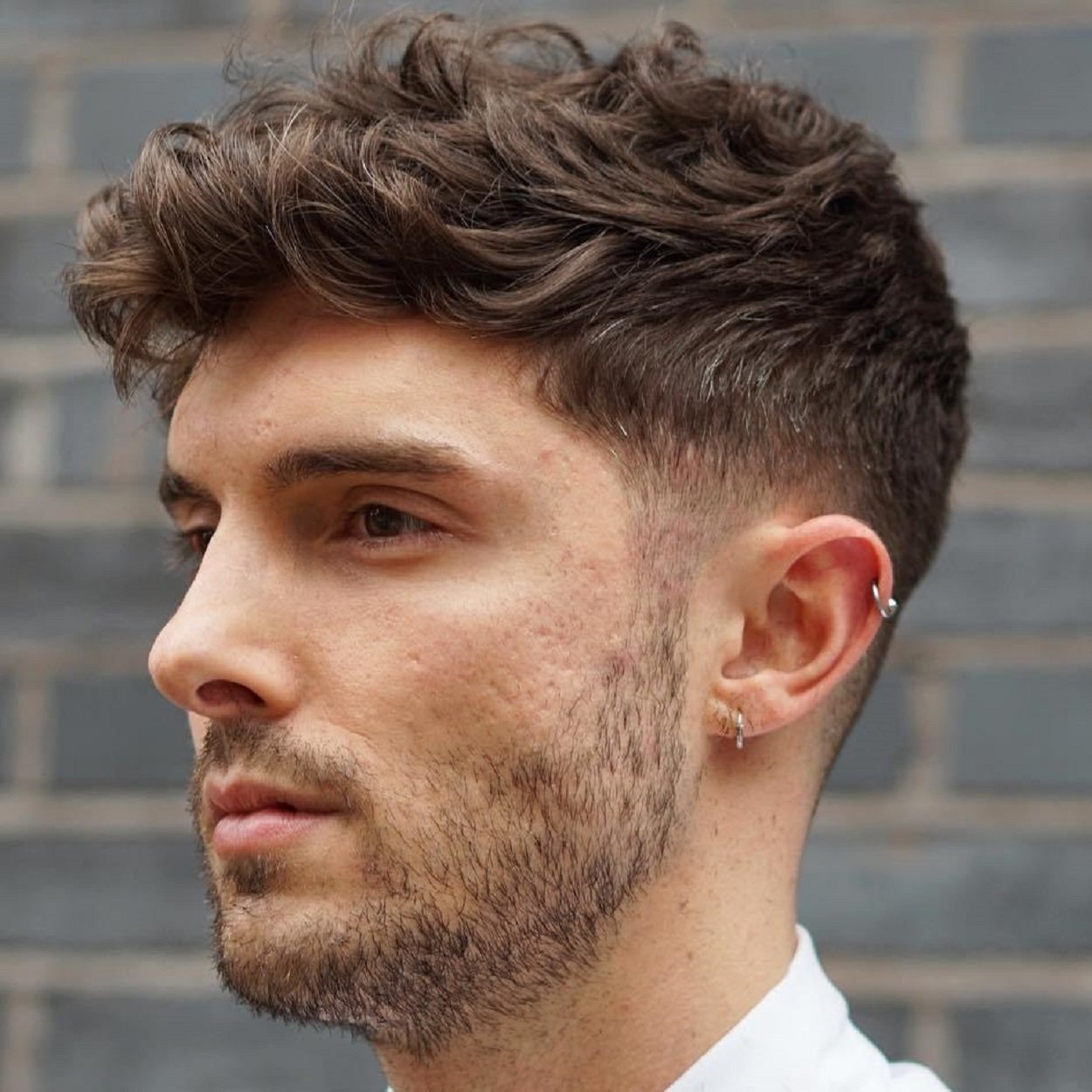 Curly thick hairstyles for men photo images