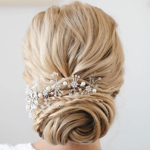 Bridal Twisted Chignon