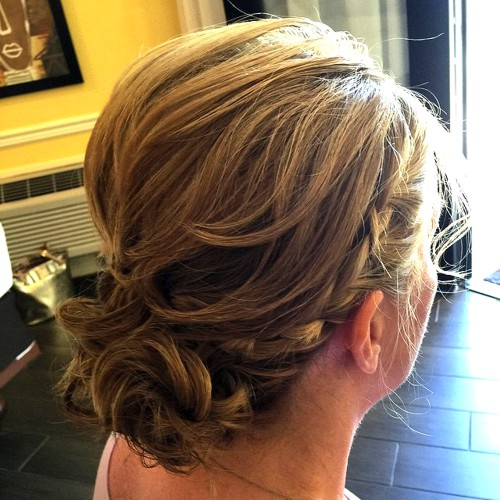 Mother of the groom hair