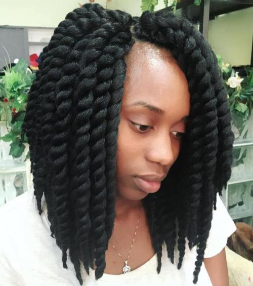 Chunky Twists In A Lob Length