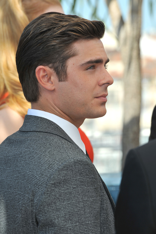 Zac Efron dandy hairstyle