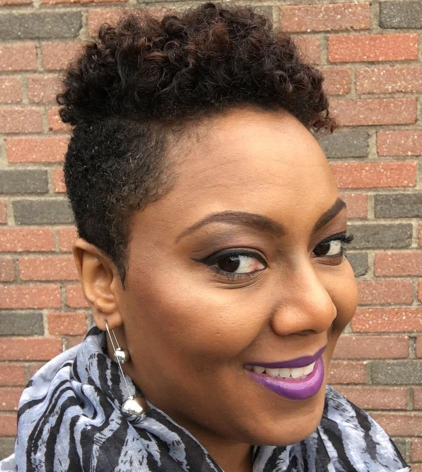 40 Cute Tapered Natural Hairstyles For Afro Hair