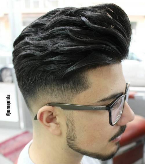 Fade Undercut With A Long Textured Top