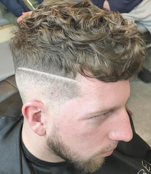 Men's Undercut For Curly Hair