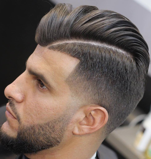 Astounding 40 Ritzy Shaved Sides Hairstyles And Haircuts For Men Short Hairstyles For Black Women Fulllsitofus