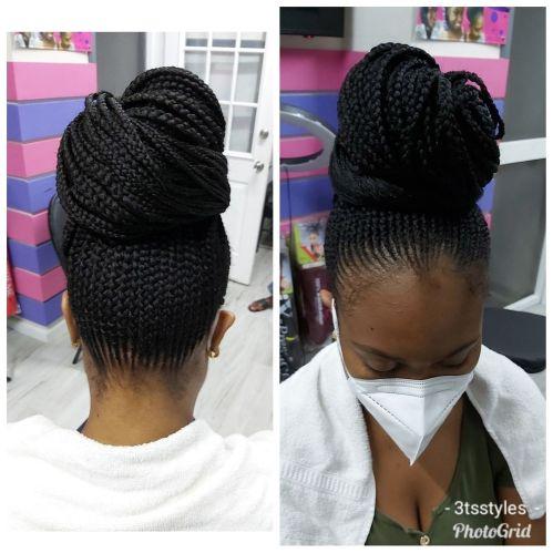 Bun Hairstyle for Natural Hair