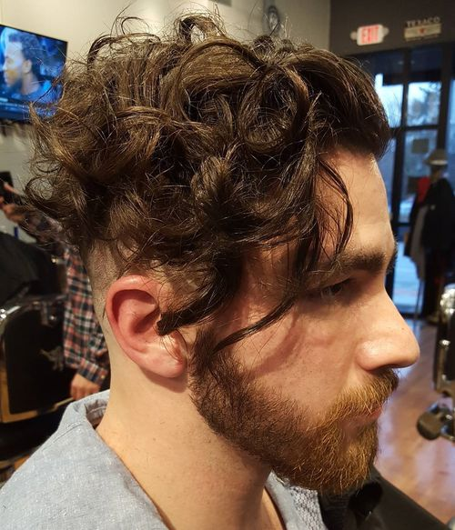 Outstanding Curly Hairstyles For Men 40 Ideas For Type 2 Type 3 And Type 4 Hairstyles For Women Draintrainus