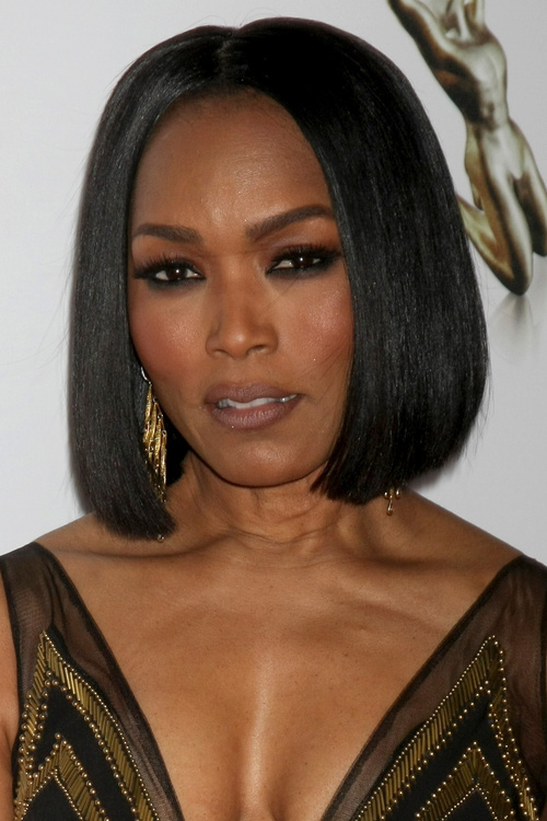 classic bob hairstyle for black women