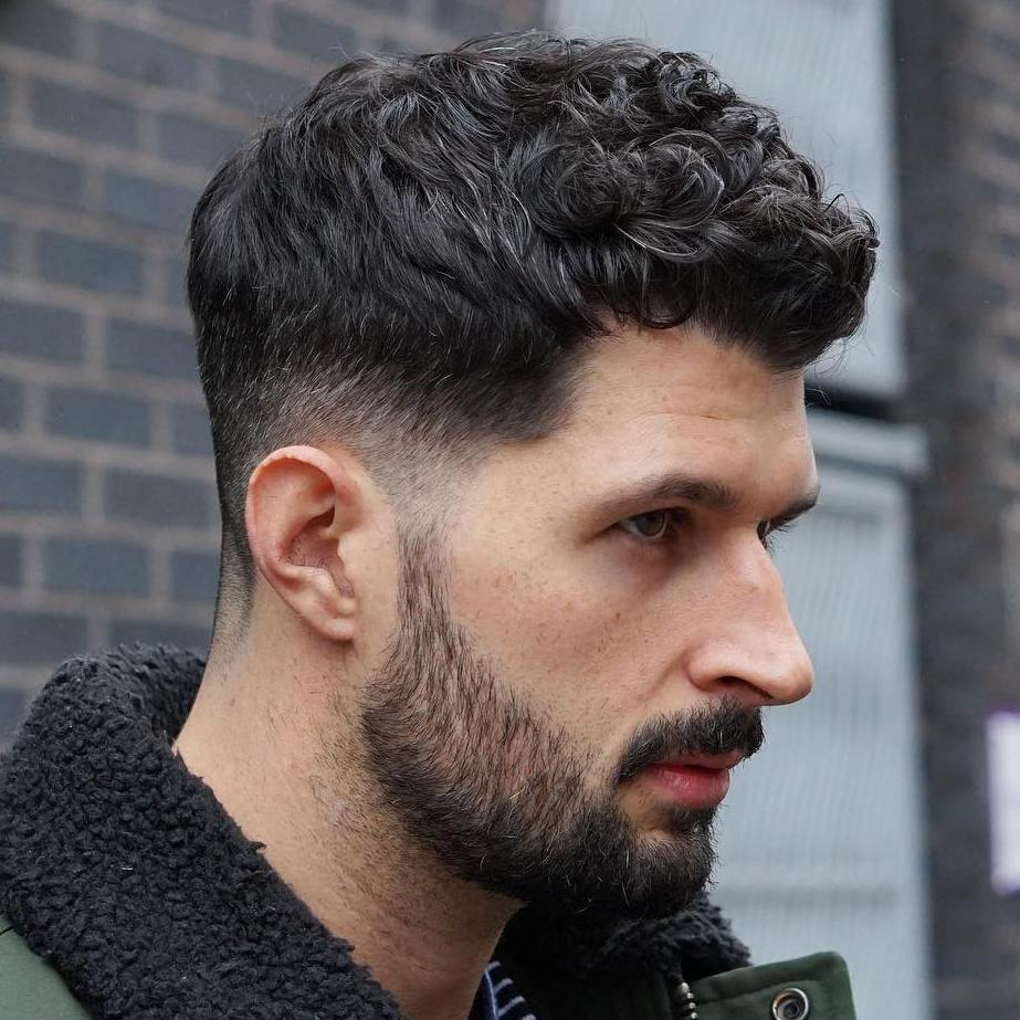 Exceptional Taper Fade For Curly Hair