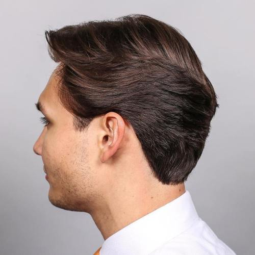 Short Layered Haircut For Men