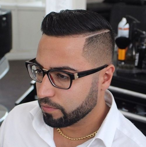 Strange 40 Ritzy Shaved Sides Hairstyles And Haircuts For Men Short Hairstyles Gunalazisus
