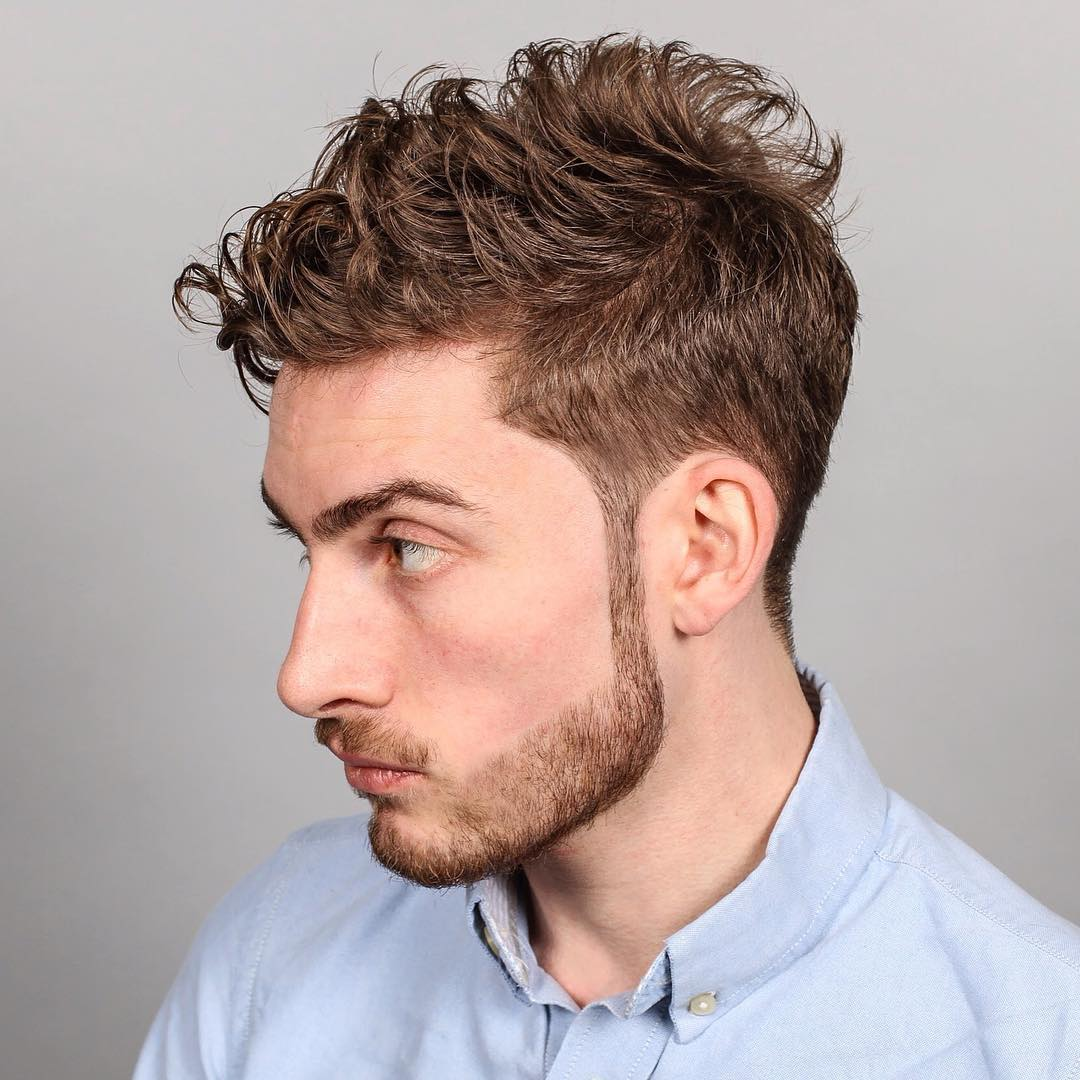 Taper For Wavy Hair
