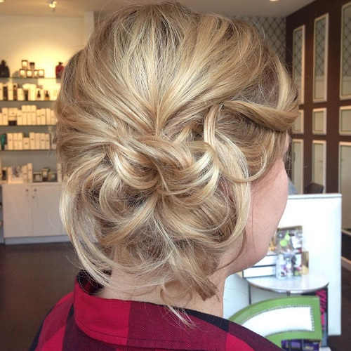 Magnificent Side Updos That Are In Trend 40 Best Bun Hairstyles For 2017 Short Hairstyles Gunalazisus