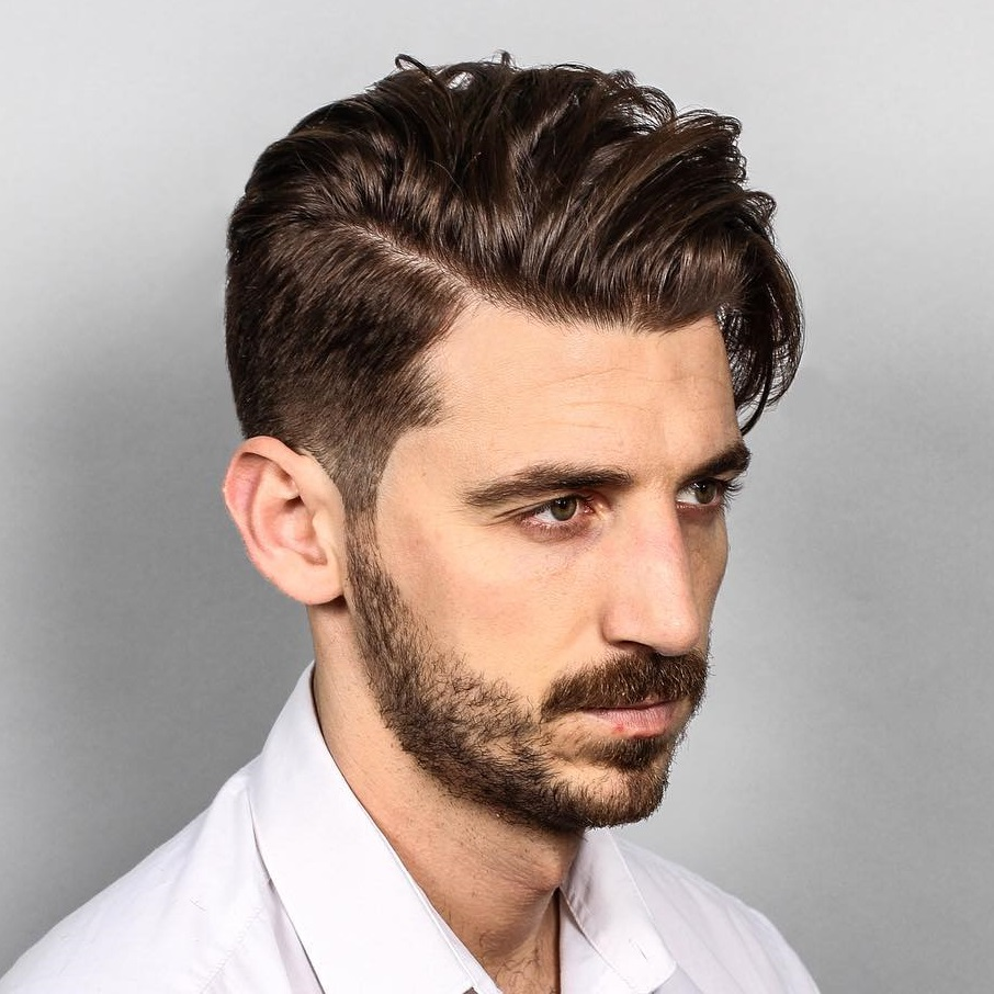 Long Top Taper Haircut