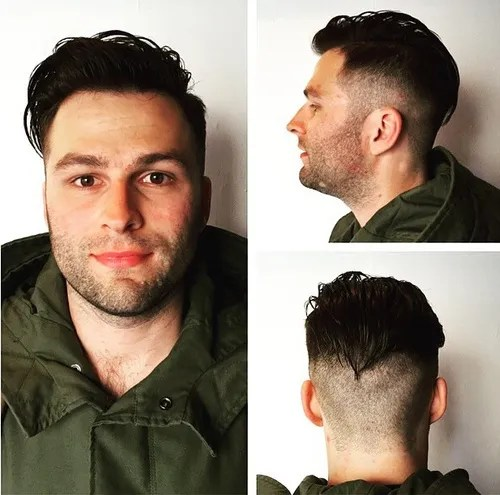 short sides long top hairstyle for men