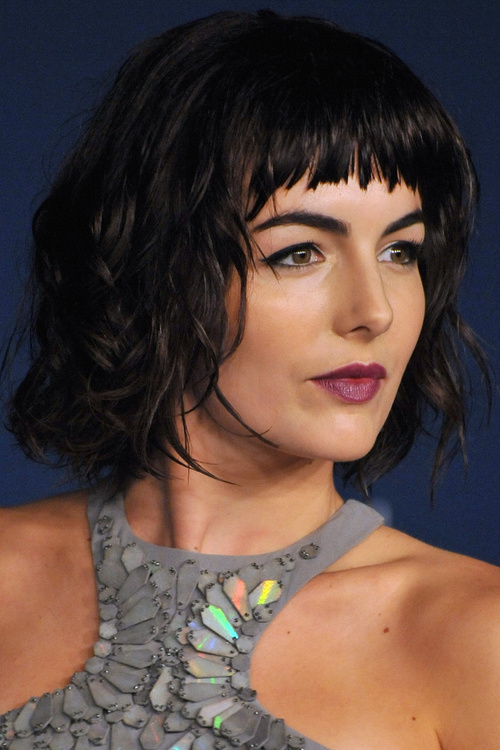 Fantastic 40 Cute Styles Featuring Curly Hair With Bangs Short Hairstyles Gunalazisus