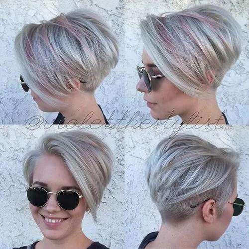 Outstanding Pixie Haircuts With Bangs 40 Terrific Tapers Short Hairstyles Gunalazisus