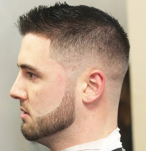 Short Fade For Thin Hair