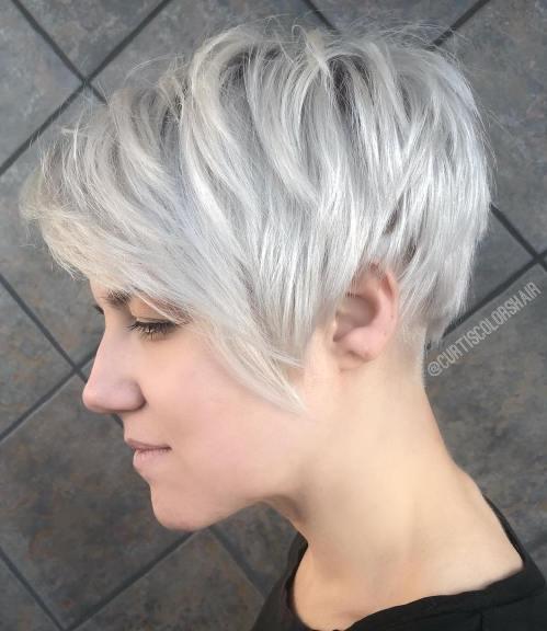 Choppy Silver Pixie