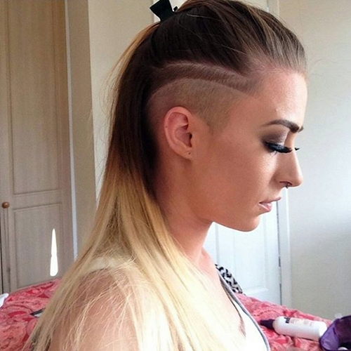 Fabulous 40 Women39S Undercut Hairstyles To Make A Real Statement Hairstyles For Women Draintrainus