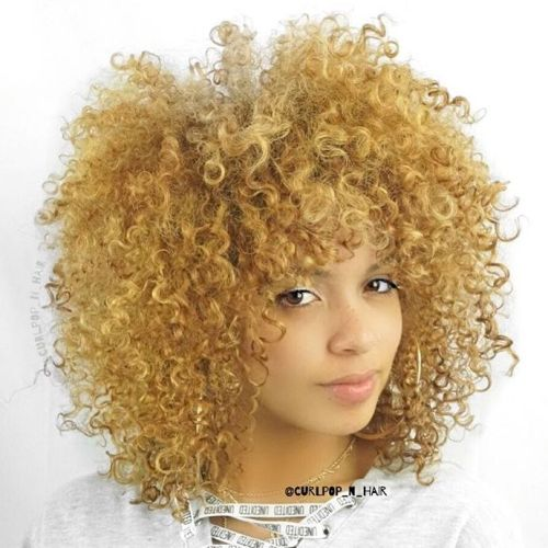 Medium Natural Blonde Hairstyle