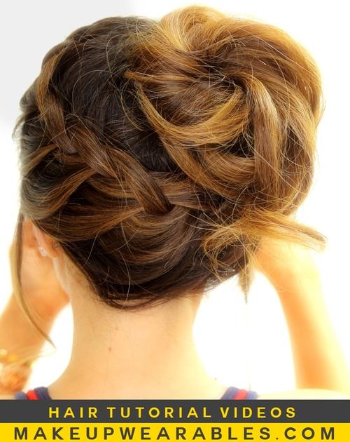 20 Easy Updos For Medium Hair