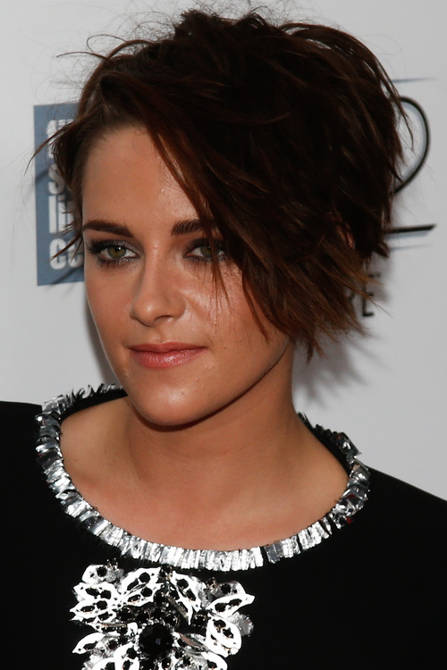short disheveled fringe hairstyle